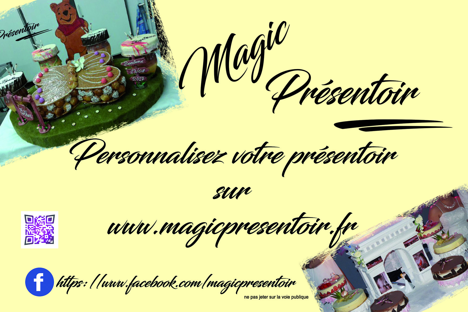 Flyers 10 x 15 Magic Présentoir